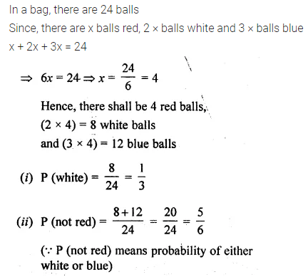 ML Aggarwal Class 10 Solutions for ICSE Maths Chapter 22 Probability Ex 22 Q34