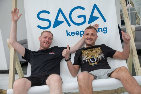 Saga Spirit of Discovery VIP Trade Event 2-4 July 2019 - Scott Tyrer, Colin Pennington, Book In Style