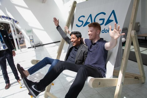 Saga Spirit of Discovery VIP Trade Event 2-4 July 2019 - Anwar Sohawon, Tom Parry, TTG