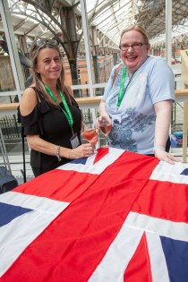 Saga Spirit of Discovery VIP Trade Event 2-4 July 2019 - Erika Whittle, Louise Halstead, both Thomas Cook