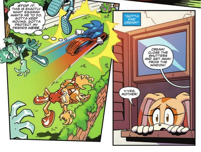IDW Sonic the Hedgehog issue 18 Preview 1