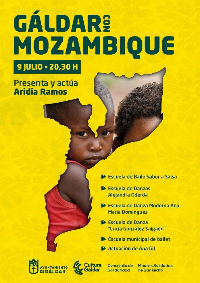 Gáldar con Mozambique, en la gala solidaria de este martes en la Plaza de Santiago
