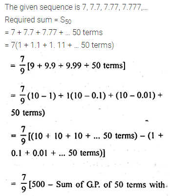 ML Aggarwal Class 10 Solutions for ICSE Maths Chapter 9 Arithmetic