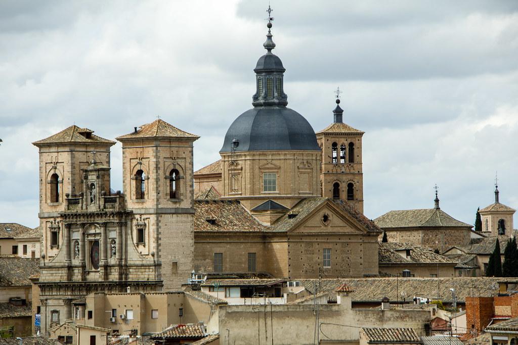 vista exterior Iglesia de San Ildefonso o de los Jesuitas Toledo