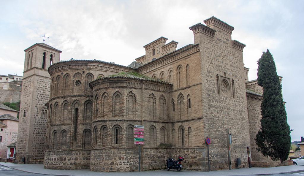abside exterior Iglesia de Santiago el Mayor o Santiago del Arrabal Toledo 02