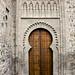 fachada principal portada mudejar exterior Iglesia de Santiago el Mayor o de Santiago del Arrabal Toledo 03