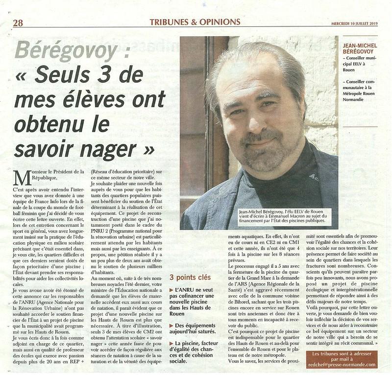 Lettre ouverte de Jean-Michel BEREGOVOY à Emmanuel MACRON.