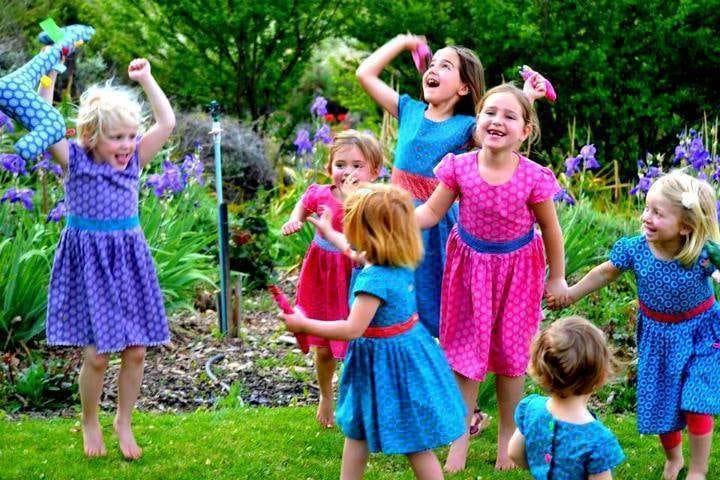 Kids Shweshwe fashion