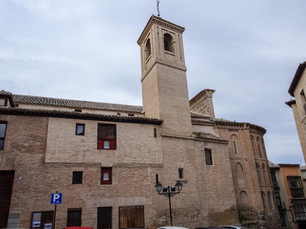 torre y abside exterior Iglesia de San Vicente Toledo