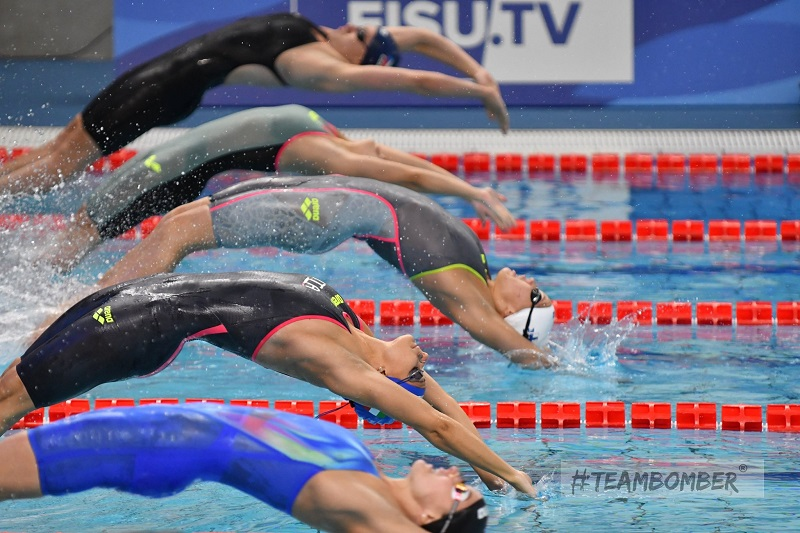 Universiadi Napoli 2019, l'Italia chiude sesta nel medagliere del nuoto