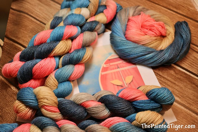 Its A Boat Time Panda 2 Sock Yarn - June 2019 Tiger Club