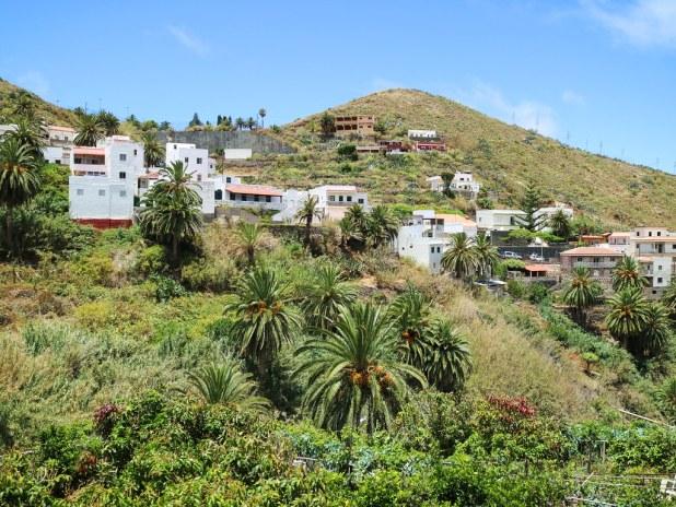 Pueblo de Taganana en Tenerife