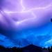 Lightning in Bozeman Montana