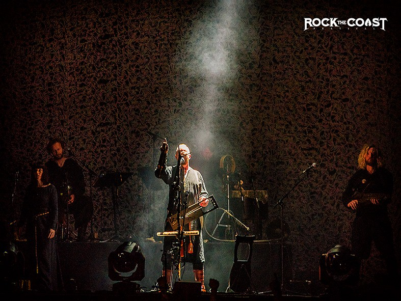 Wardruna opening the Rock the Coast festival on the Castle Stage
