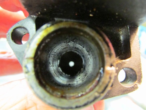 Front Master Cylinder Bore is Pitted - I Will Have To Replace It :-(