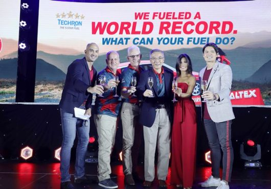 Caltex Record Breaking Journey Toast