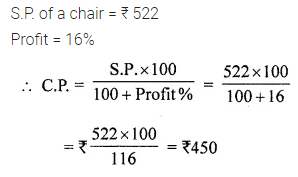 ML Aggarwal Class 7 Solutions for ICSE Maths Chapter 7 Percentage and Its Applications Ex 7.3 Q12