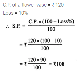 ML Aggarwal Class 7 Solutions for ICSE Maths Chapter 7 Percentage and Its Applications Ex 7.3 Q8