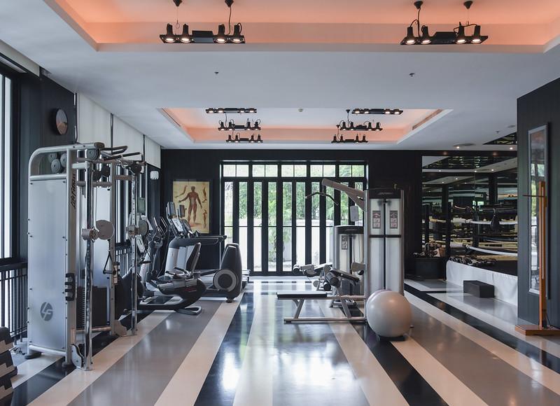 the siam hotel bangkok - gym