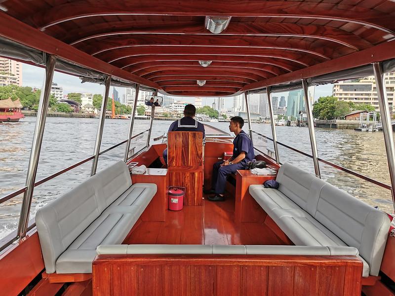 the siam - private boat