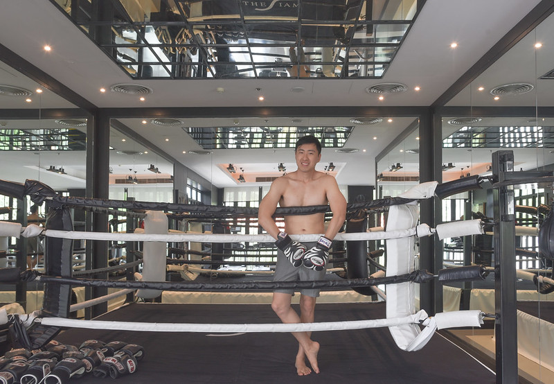 the siam hotel bangkok - boxing ring