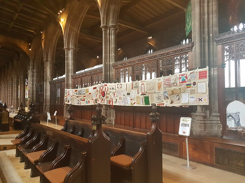 Peterloo Tapestry, Manchester Cathedral
