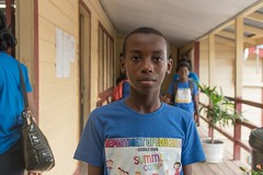 One of the students who completed the programme.