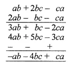 ML Aggarwal Class 7 Solutions for ICSE Maths Chapter 8 Algebraic Expressions Check Your Progress Q5