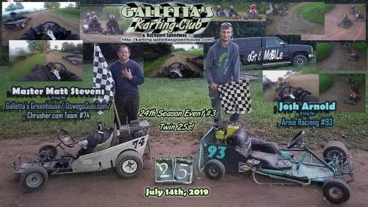 20190714_210720 Galletta's Karting - Matt Stevens and Josh Arnold win!