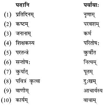 NCERT Solutions for Class 8 Sanskrit Chapter 10 नीतिनवनीतम् 2