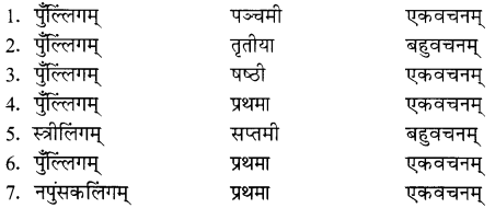 NCERT Solutions for Class 8 Sanskrit Chapter 15 प्रहेलिकाः 10