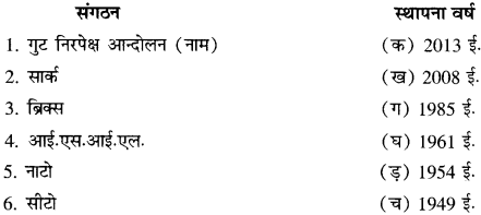 RBSE Solutions for Class 11 History Chapter 7 द्वितीय विश्व-युद्ध के बाद का विश्व 11
