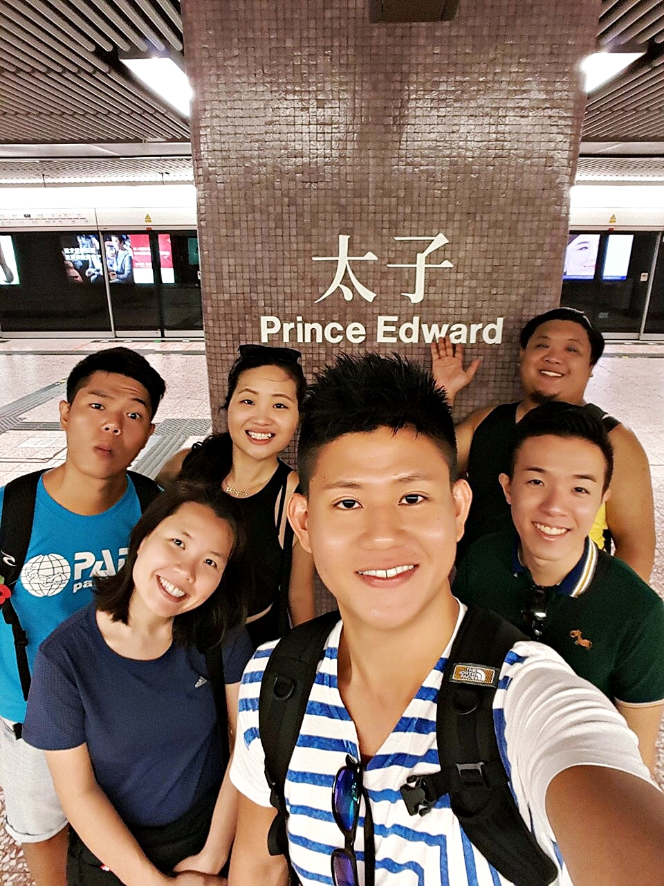 7 Nov 2015: Prince Edward MTR Station | Mong Kok, Hong Kong