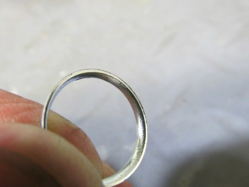 Flared End of Stiffening Ring