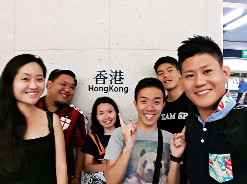 8 Nov 2015: Hong Kong Station | Central, Hong Kong
