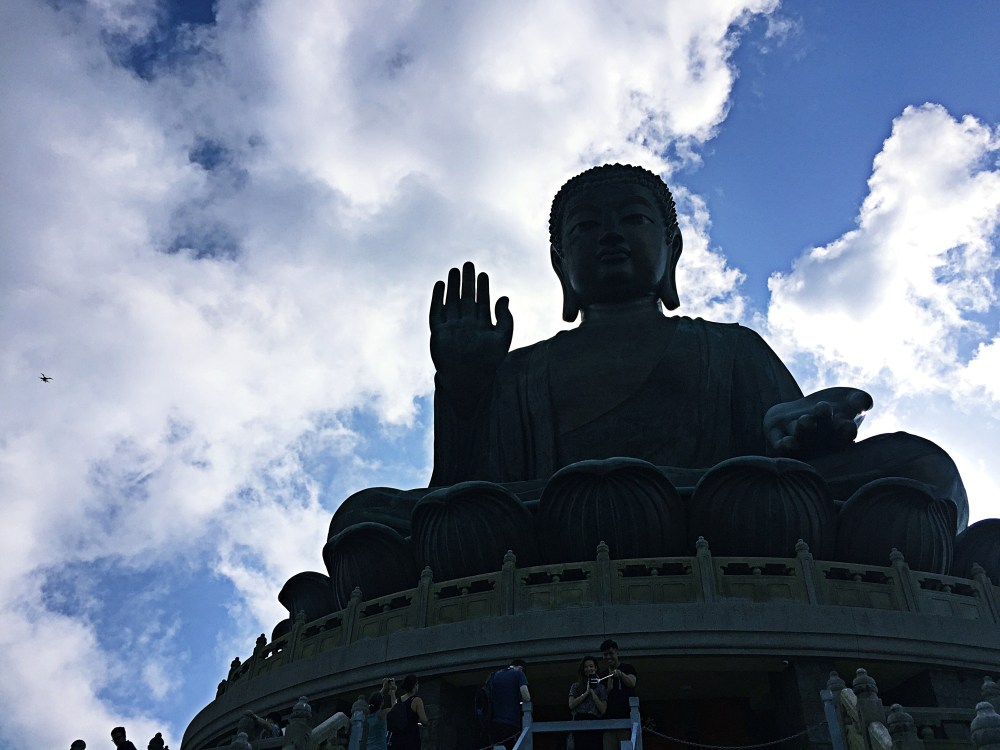 8 Nov 2015: Tian Tan Buddha (Big Buddha)   Lantau Island, Hong Kong