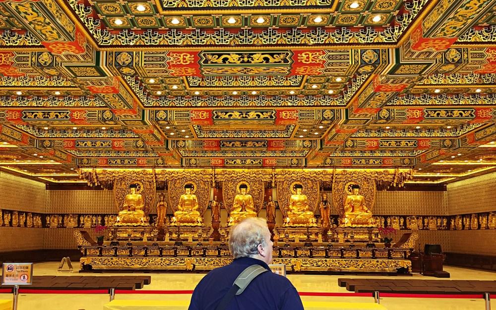 8 Nov 2015: Grand Hall of Ten Thousand Buddhas @ Po Lin Monastery | Lantau Island, Hong Kong