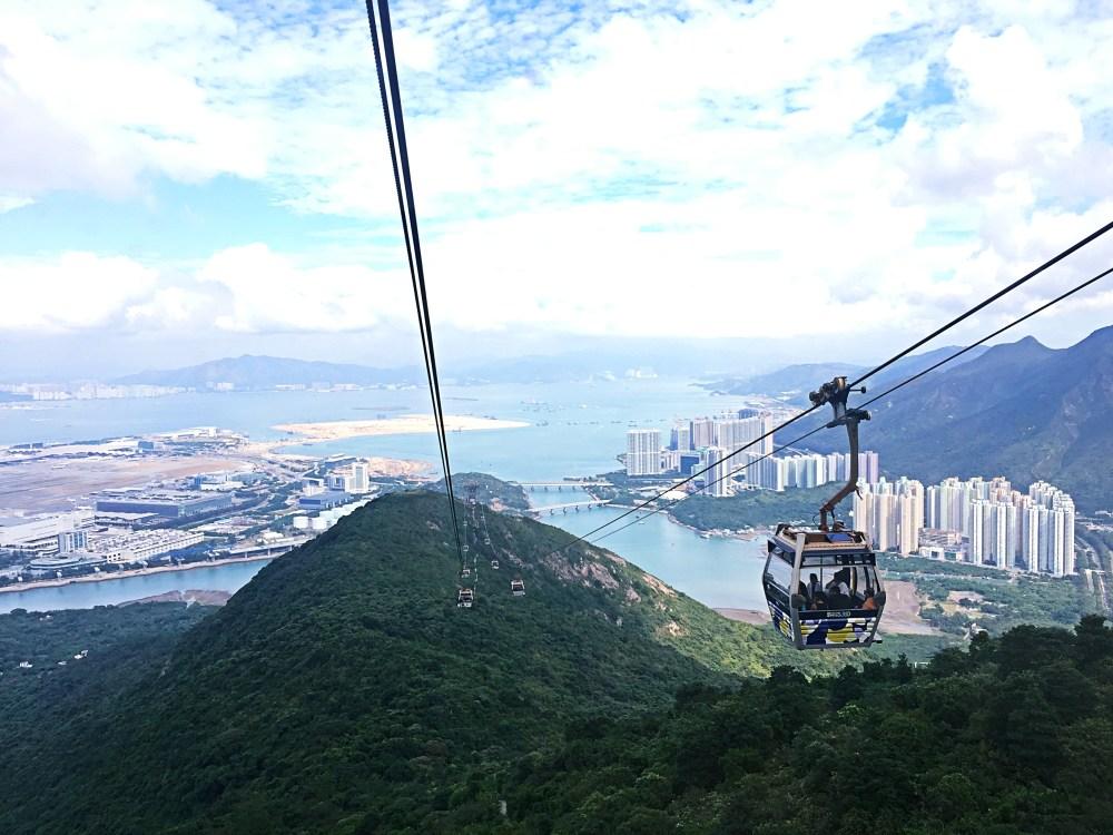8 Nov 2015: Ngong Ping 360 Cable Car 360   Lantau Island, Hong Kong