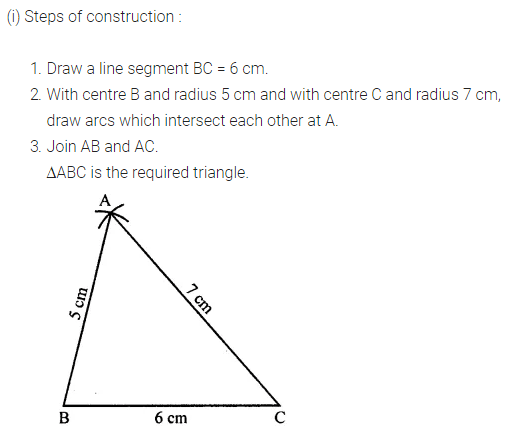 ML Aggarwal Class 7 Solutions for ICSE Maths Chapter 13 Practical Geometry Ex 13 Q4