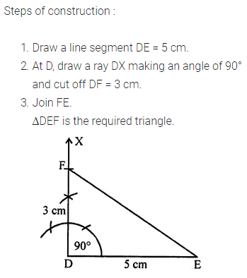 ML Aggarwal Class 7 Solutions for ICSE Maths Chapter 13 Practical Geometry Ex 13 Q9