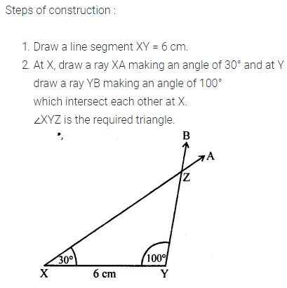 ML Aggarwal Class 7 Solutions for ICSE Maths Chapter 13 Practical Geometry Ex 13 Q11