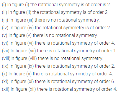 ML Aggarwal Class 7 Solutions for ICSE Maths Chapter 14 Symmetry Ex 14.2 Q1.1
