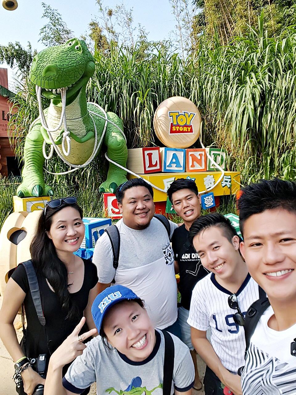 9 November 2015: Toy Story Land @ Hong Kong Disneyland | Lantau Island, Hong Kong