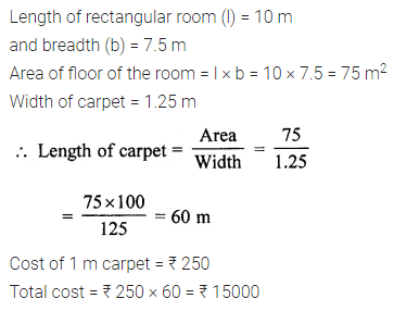 ML Aggarwal Class 7 Solutions for ICSE Maths Chapter 16 Perimeter and Area Ex 16.1 Q13