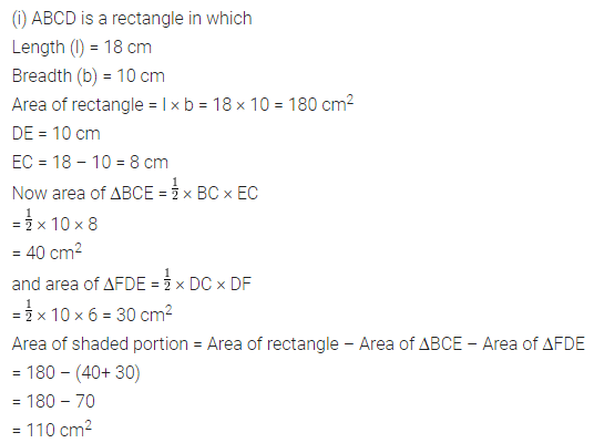 ML Aggarwal Class 7 Solutions for ICSE Maths Chapter 16 Perimeter and Area Ex 16.2 Q11.1