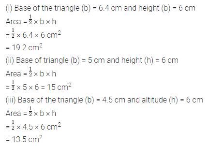 ML Aggarwal Class 7 Solutions for ICSE Maths Chapter 16 Perimeter and Area Ex 16.2 Q2.1