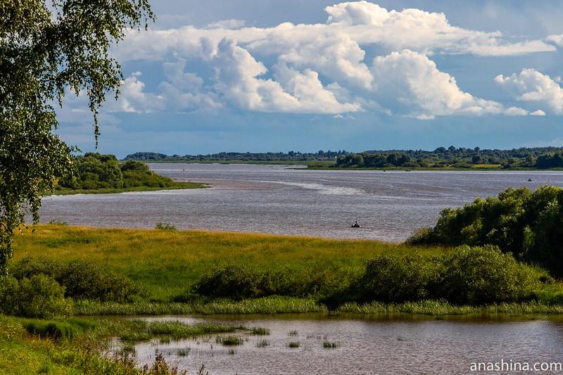Вид в сторону Перынского скита и Ильмень-озера, Великий Новгород