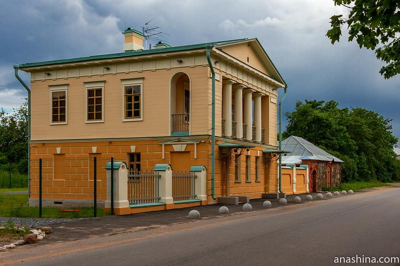 Путевой дворец, Коростынь, Новгородская область