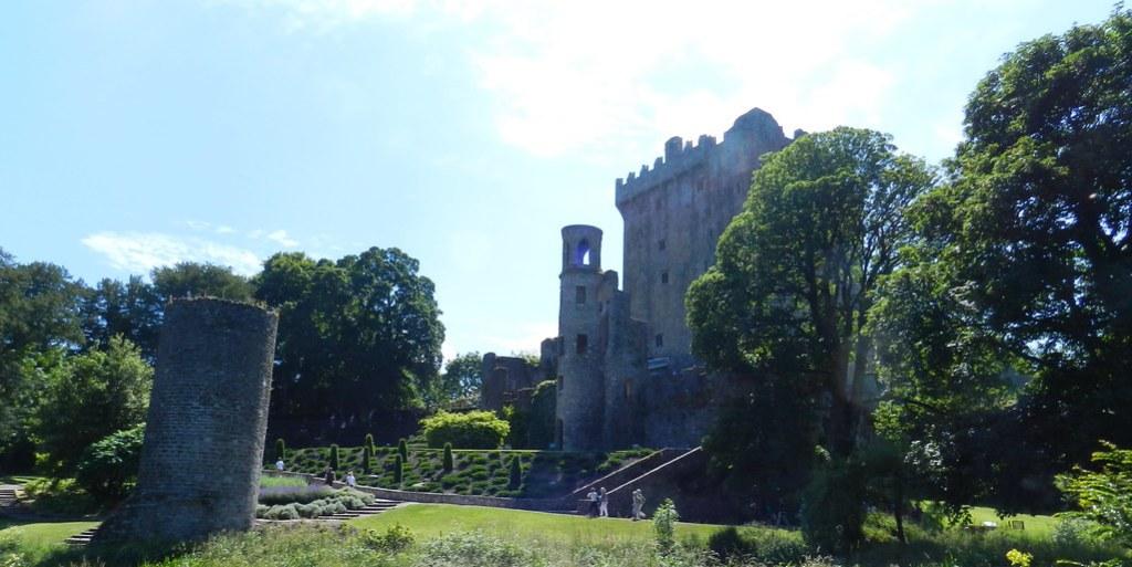 torre del Homenaje y torreon circular del Castillo de Blarney Republica de Irlanda 04