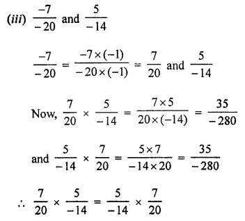 Maths Questions for Class 8 ICSE With Answers Chapter 1 Rational Numbers Ex 1.3 Q2.1